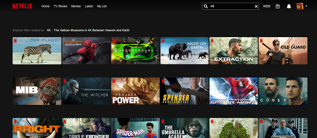 How to find 4K movies and TV shows on Netflix